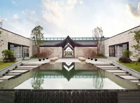 新中式建筑:现代与传统浑然天成图片