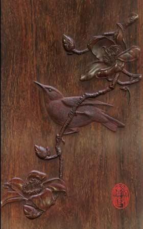 木作紫檀木雕