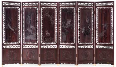 剑川木雕线条窗图片
