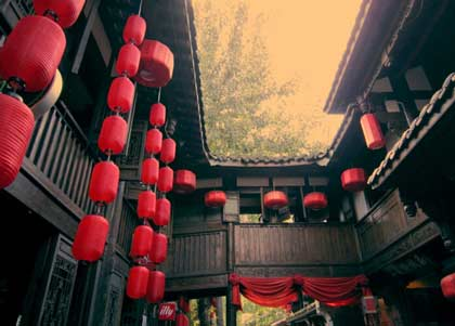 """中国古代建筑则是一部""""木头史诗"""""""