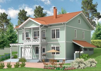 轻型木结构是北美住宅建筑大量采用的